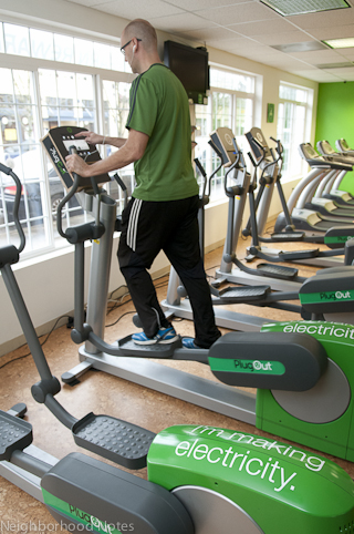 Eco Gym energy harvesting equipment